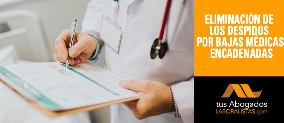 Eliminación de despidos por bajas médicas